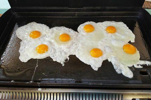 Omelettes à savouer au Primeurs Cyclades de Gassin - https://gassin.eu