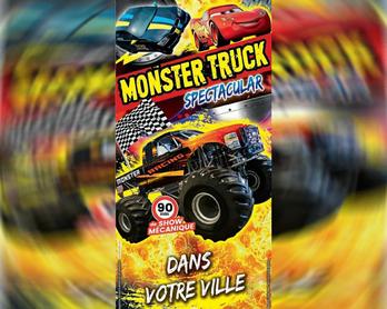 Cascadeur Monster Truck