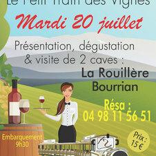 Visite en compagnie de Régine Summeire à Barbeyrolles