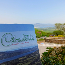 La Carte La Ciboulette - restaurant avec vue panoramique à Gassin - https://gassin.eu